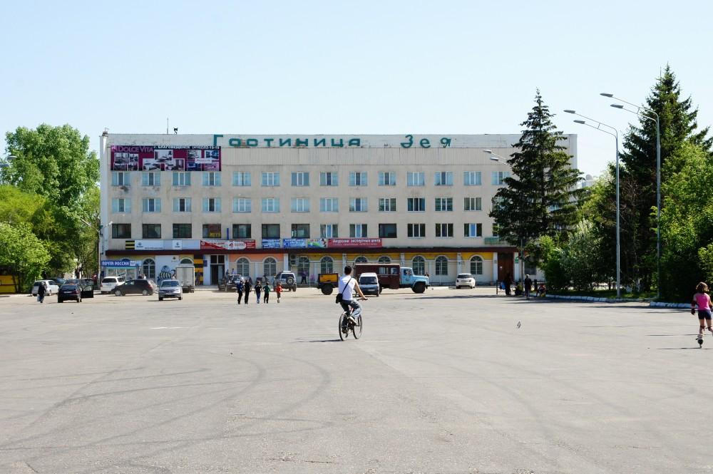 гостиницы в городе зея